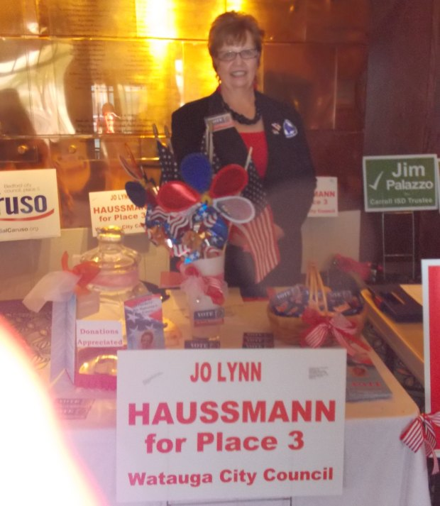 Jo Lynn for Place 3 ~ Watauga City Coucil